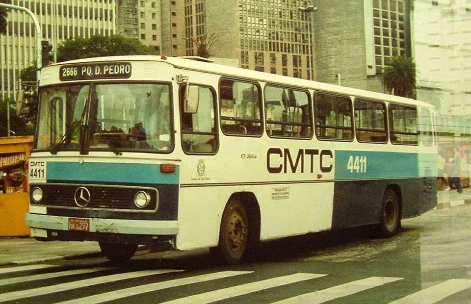 ônibus da CMTC