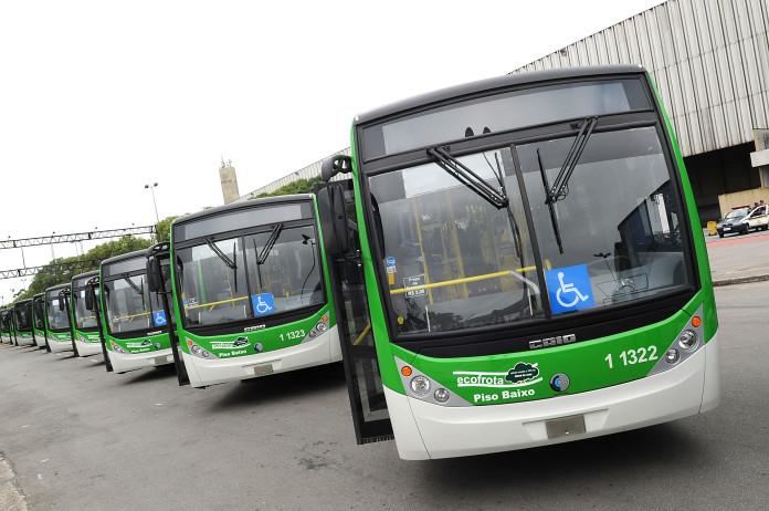 ônibus sptrans Ônibus municipais