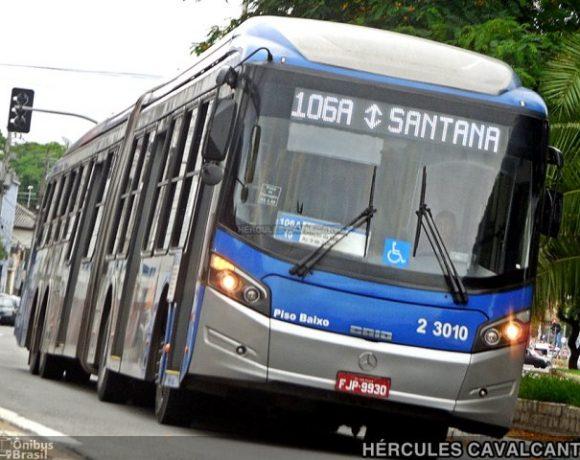 capital paulista Ônibus da Sambaíba 106A