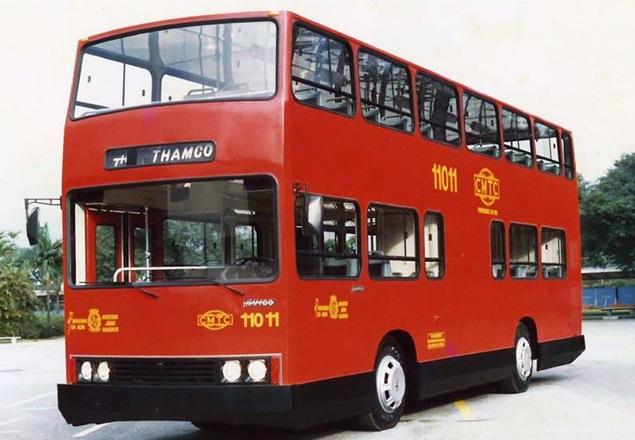 CMTC Thanco ônibus de dois andares