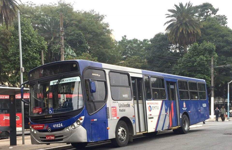 Ônibus da Unileste Radial intermunicipais