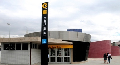 estações Estação Faria Lima domingo