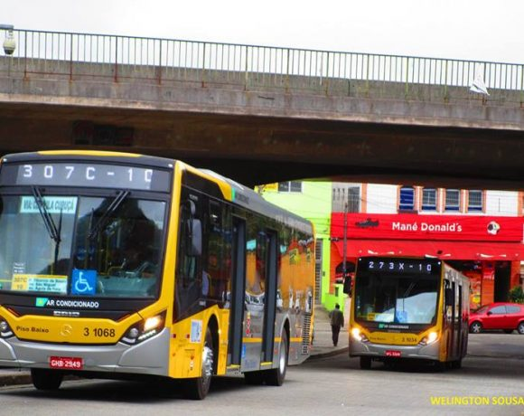 ônibus da vip São Paulo