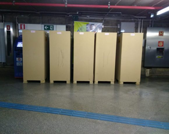 Máquinas de autoatendimento para venda de bilhetes unitários
