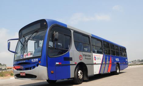 Ônibus da EMTU transporte metropolitano