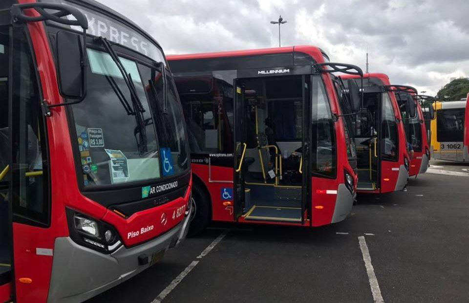 sptrans Frota de ônibus mulheres
