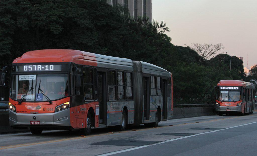 Caio Millennium BRT articulado da Transpass