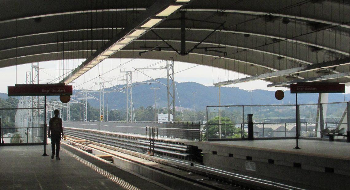 Estação Guarulhos-Cecap Linha 13-Jade