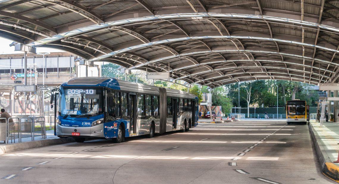 Vale-Transporte Terminal Pinheiros ônibus municipais