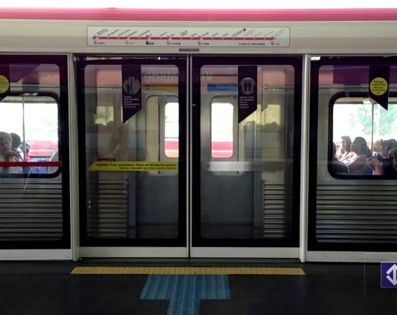 portas de plataforma Estação Vila Matilde segurança feminina instalação de portas