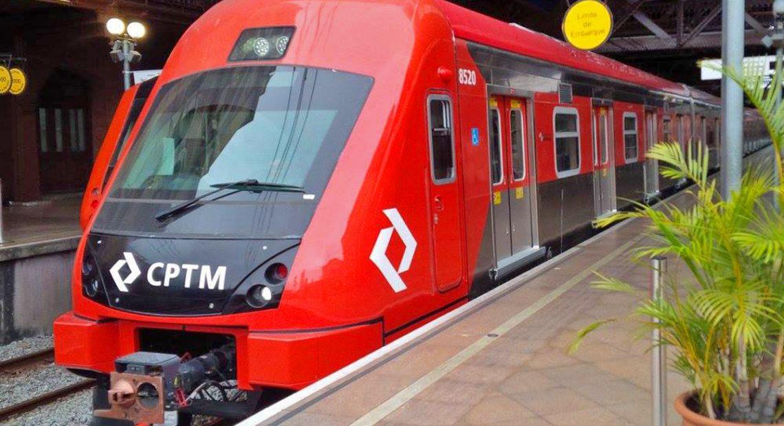 série 8500 Obras estações da CPTM