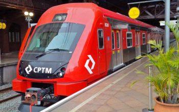 série 8500 Obras estações da CPTM trens da cptm