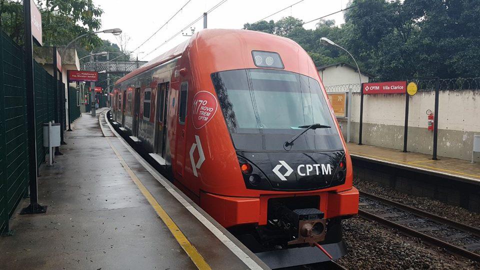 trem caf 8500 cptm trens obras