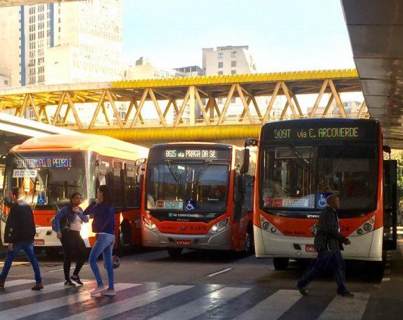 Ônibus da SPTrans licitação