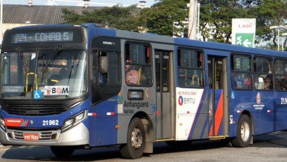 ônibus EMTU Carapicuíba Passe Livre