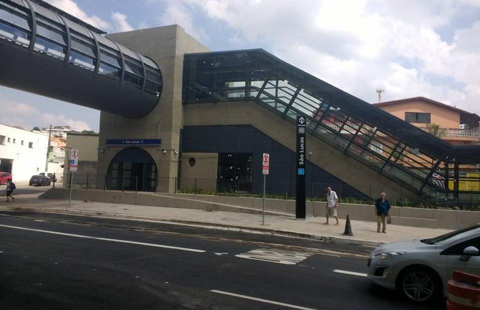 Estação São Lucas Linha 15-Prata