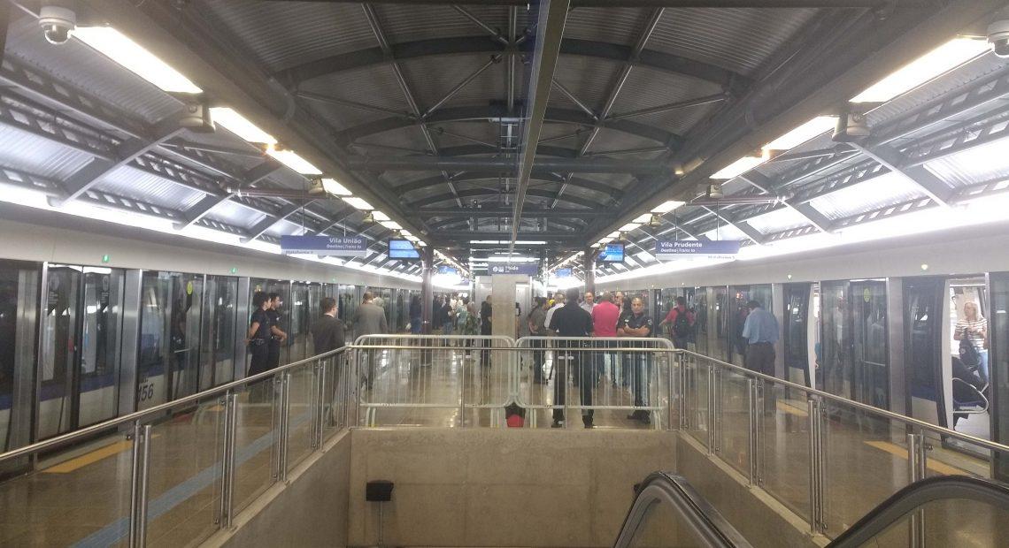 Linha 15-Prata Estação Vila União Linha 15-Prata