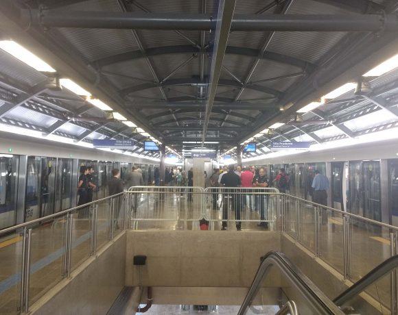Estação Vila União linha 15-Prata