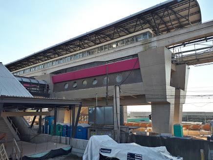 Estação Sapopemba Linha 15-Prata