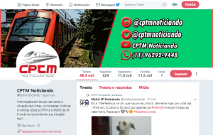 twitter cptm noticiando