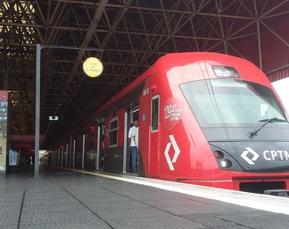 Trem série 8500 Linha 11-Coral