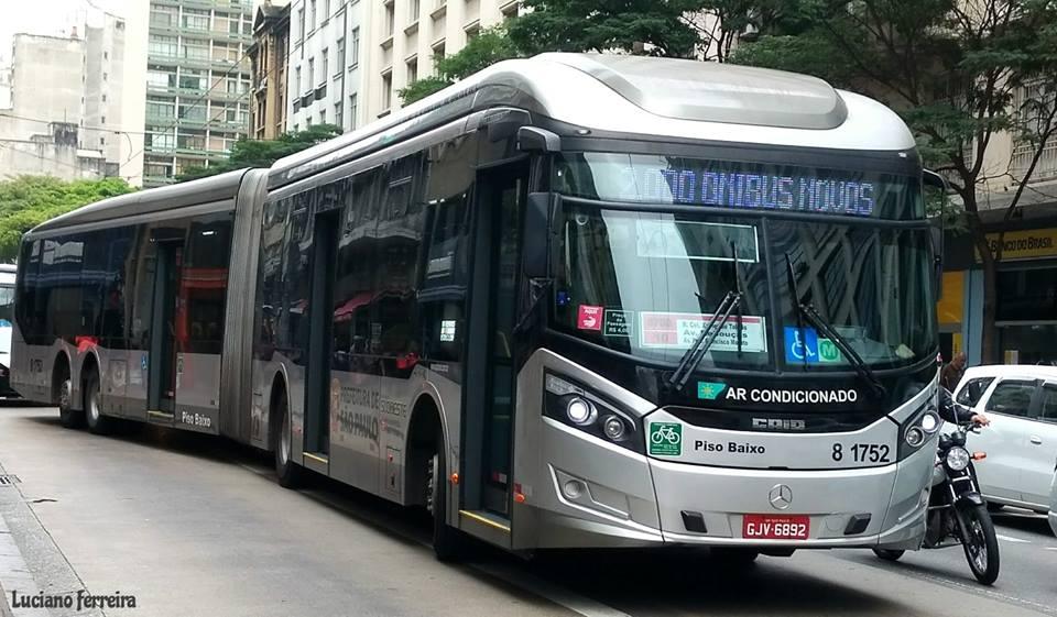 Milênio Bus Caio Millennium BRT II Passageiros Vale-transporte