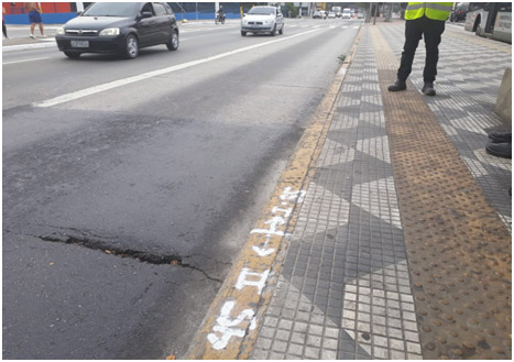 Obras nos corredores de ônibus