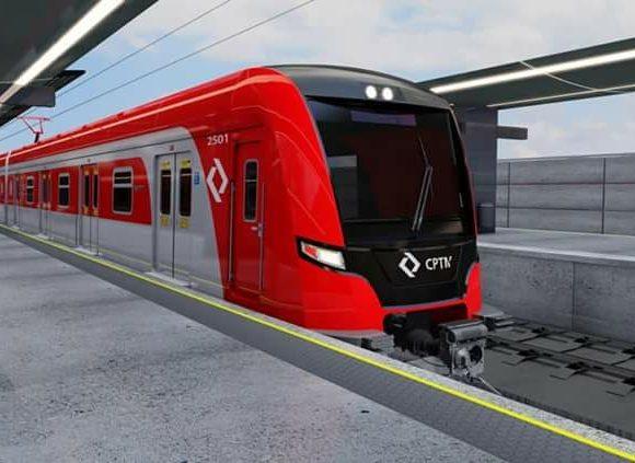 Trem série 2500 da CPTM