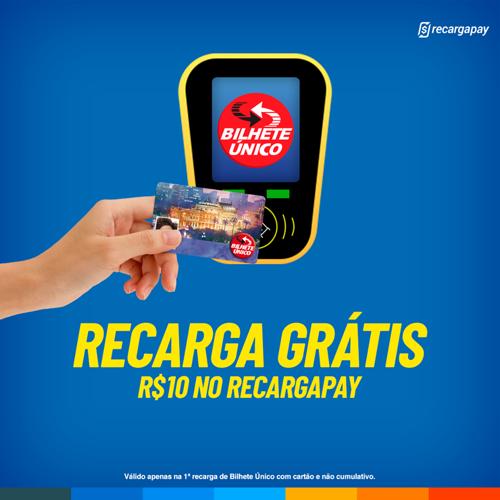 recargapay bilhete único