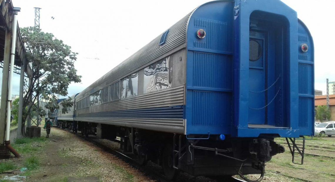 Trem de passageiros Campinas