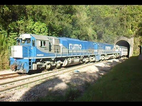 Trem da Rumo trem de passageiros Piracicaba