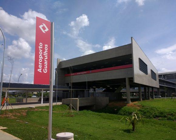 Linha 13-Jade Estação Guarulhos-Aeroporto Aeroporto de Guarulhos