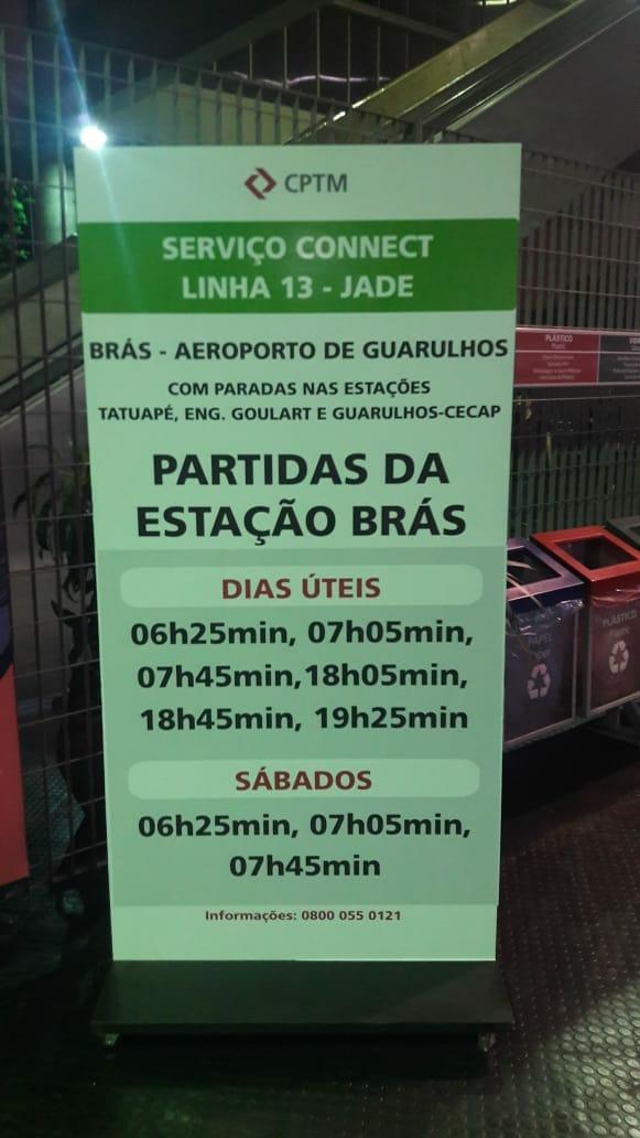Connect da Linha 13- Jade