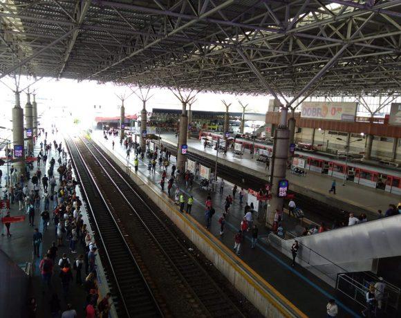 Estação Brás linhas da CPTM