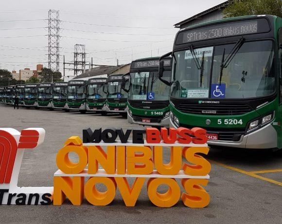 Novos ônibus da MoveBuss