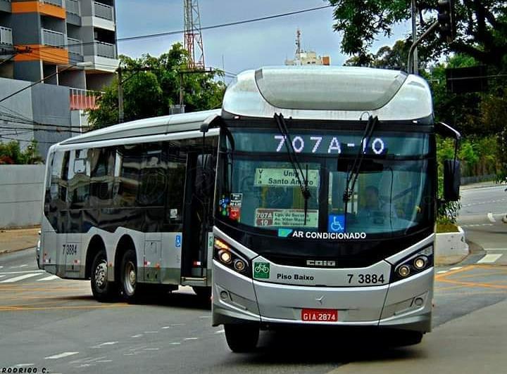 Linha 707A/10 Metrô Praça da Árvore