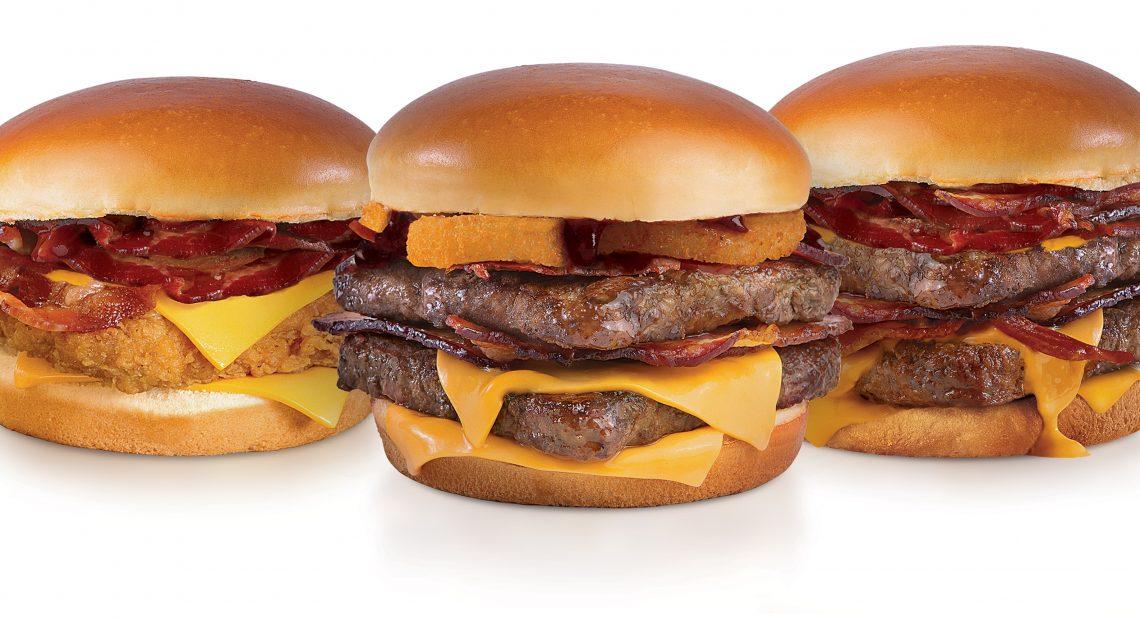 Trio Baconator Wendy's