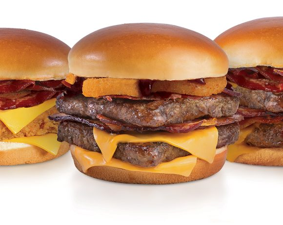 Trio Baconator Wendy's