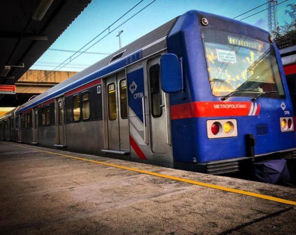 Estação Mooca Série 3000 CPTM Linha 10-Turquesa