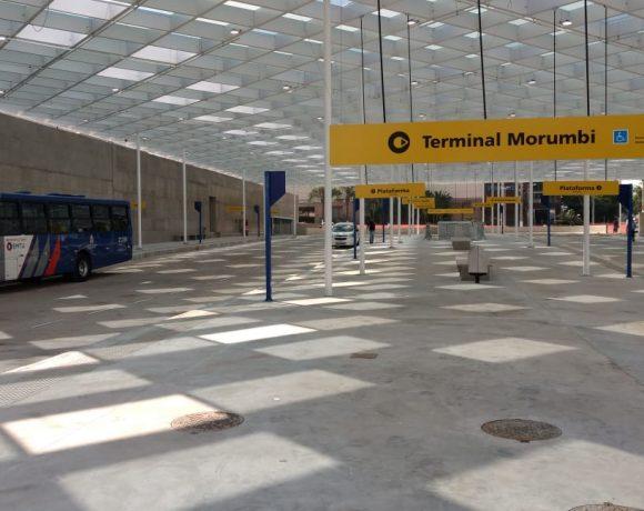 linhas intermunicipais Terminal Morumbi Jardim Guaraú