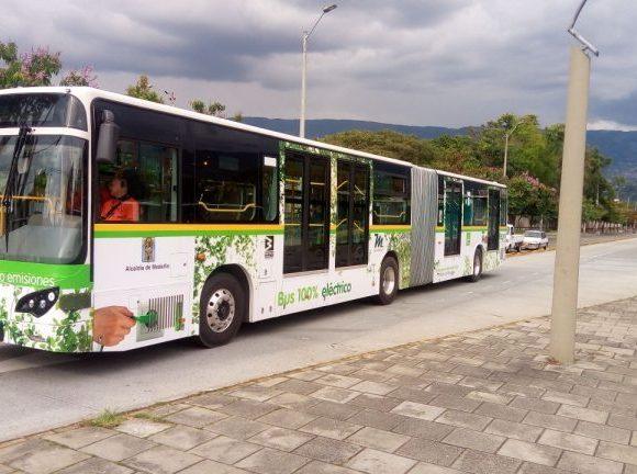 BYD na Colômbia Medellín