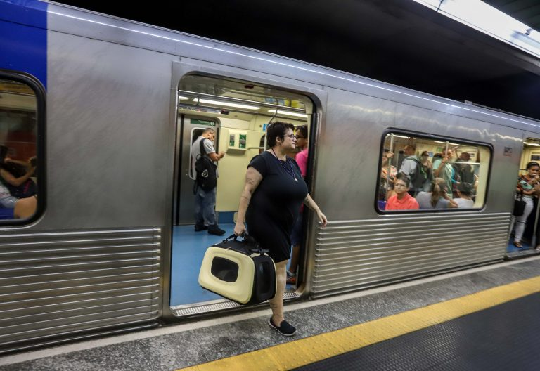 Transporte de animais no Metrô