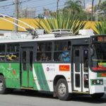 Ônibus da Metra corredor de ônibus