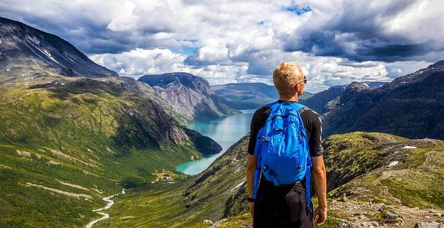 montanhas noruega