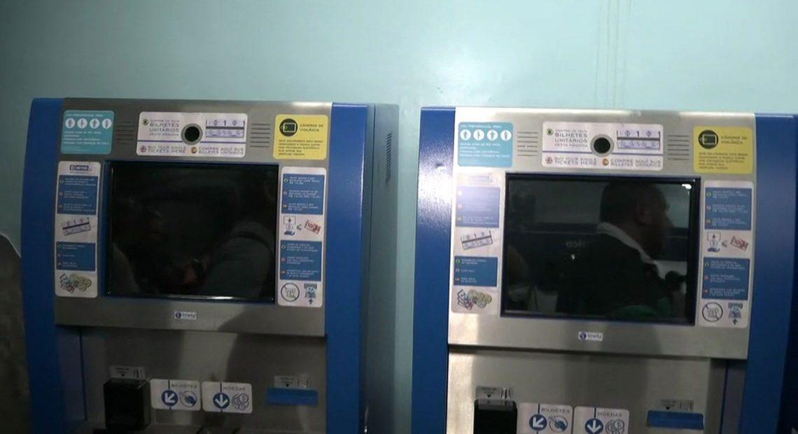 Totens do Metrô máquinas