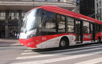Trólebus da Ambiental Transportes