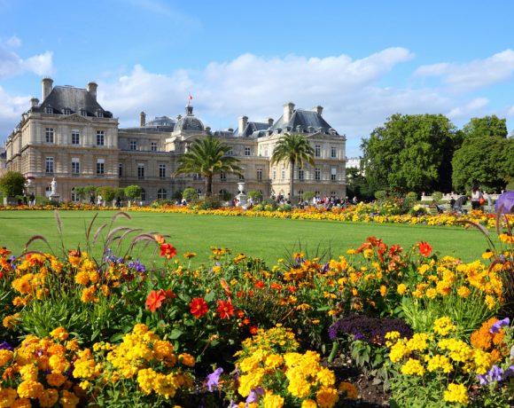 Jardim de Luxemburgo Gustave Flaubert