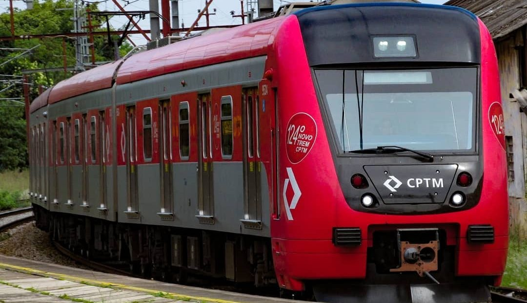 Trem Expresso Linha 7-Rubi