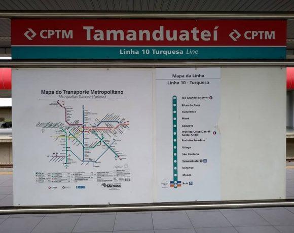 Estação Tamanduateí da CPTM