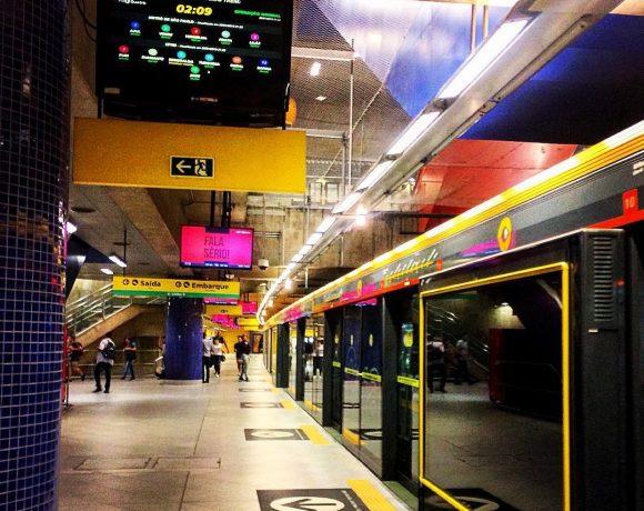 Estação Pinheiros da Linha 4-Amarela